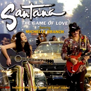 Carlos Santana - The Game Of Love (Ft. Michelle Branch)