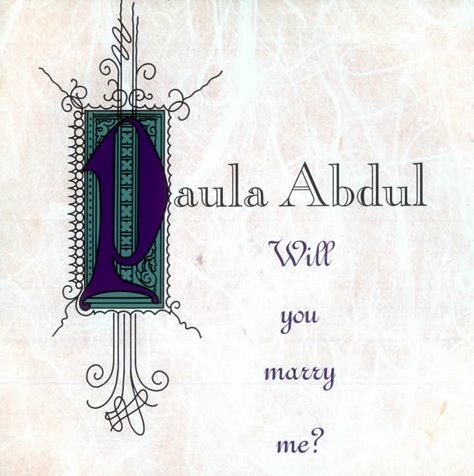 Paula Abdul - Will You Marry Me